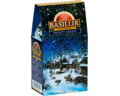 """Чай черный Basilur Подарочная коллекция """"Морозная ночь"""" (New year collection """"Frosty night"""") 100 г"""