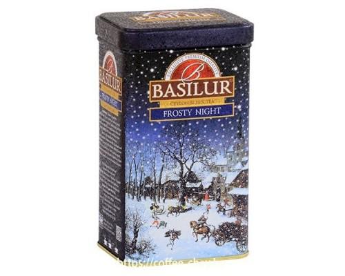 """Чай черный Basilur Подарочная коллекция """"Морозная ночь"""" (New year collection """"Frosty night"""") 85 г"""