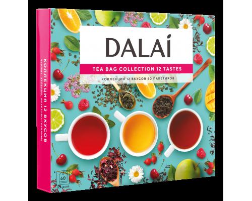 Чай Dalai Ассорти 12 вкусов, 60 саш.
