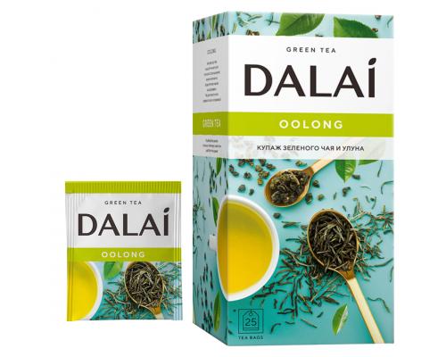 Чай зеленый Dalai Oolong 25 конв.