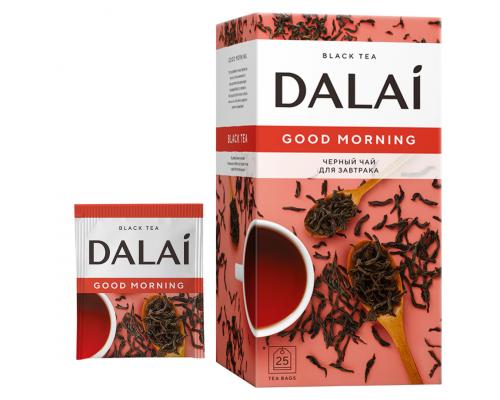 Чай черный Dalai Good Morning 25 конв.