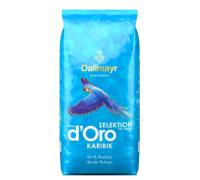 Кофе Dallmayr в зерне Crema d'Oro Selektion Des Jahres Karibik 1 кг.