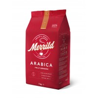 """Кофе """"Merrild""""  в зерне  ARABICA 1 кг."""