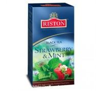 Чай Riston Strawberry & Mint (Клубника и Мята) 25 пак