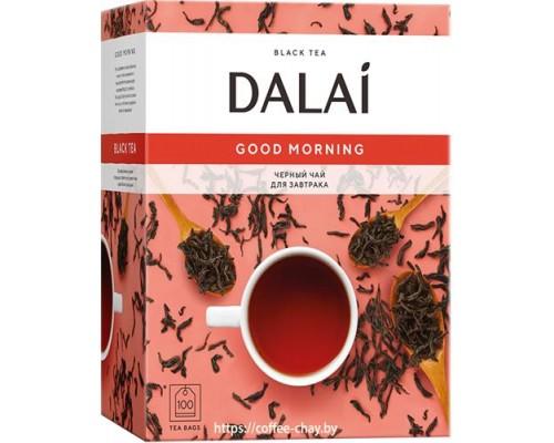 Чай черный Dalai Good Morning 100 конв.