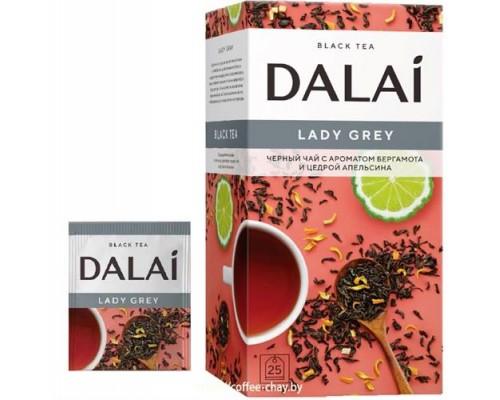 Чай черный Dalai Lady Grey  25 конв.