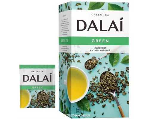 Чай зеленый Dalai Green 25 конв.
