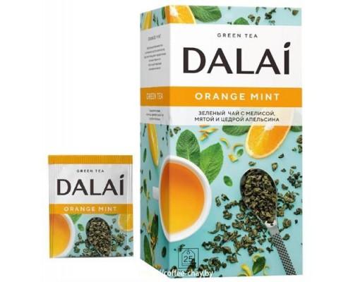 Чай зеленый Dalai Orange Mint 25 конв.