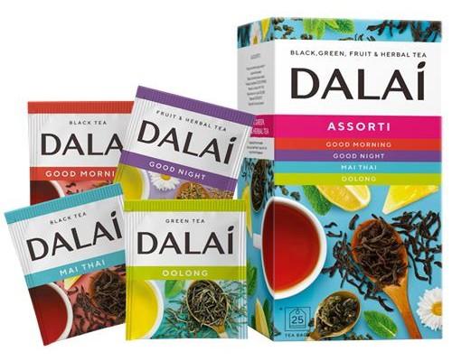 Чайное ассорти Dalai Assorti 24 конв.