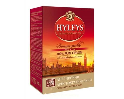 """Чай черный Hyleys """"Английский Аристократ """" 100 г"""