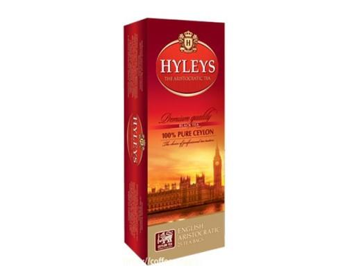 """Чай черный Hyleys """"Английский Аристократ """" 25 пак."""