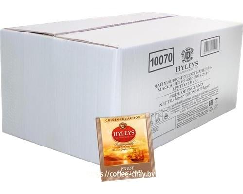 Чай Hyleys черный 200 пакетов