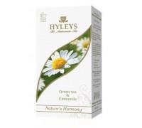 Чай Hyleys зеленый с ромашкой 25 пак.
