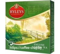 Чай зеленый Hyleys Английский 100 пак