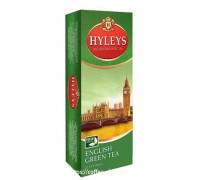 Чай зеленый Hyleys Английский 25 пак