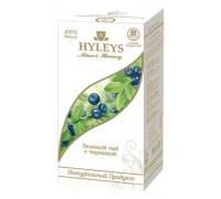 Чай зеленый Hyleys Гармония приоды с черникой 25 пак