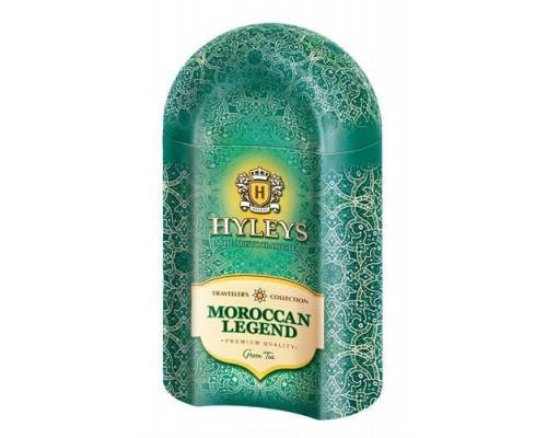 """Чай зеленый Hyleys Traveller's Collection """"Moroccan Legend"""" 100 г ж/б"""