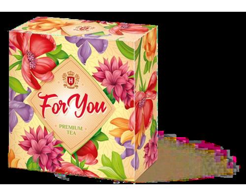 Чай подарочный  HYLEYS « FOR YOU Вальс цветов »