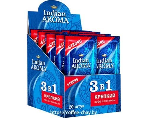 Кофе 3 в 1 Indian Aroma Strong 20 пак