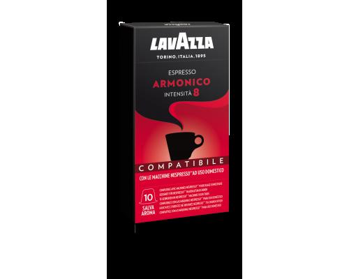 "Кофе ""Lavazza"" молотый  в капсулах ESPRESSO ARMONICO 10капс.*5,5г"