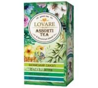 Чай зеленый Lovare Ассорти 24 пак.