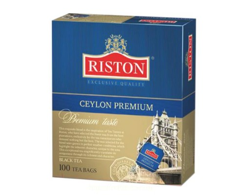 Чай Riston Ceylon Premium 100 пак