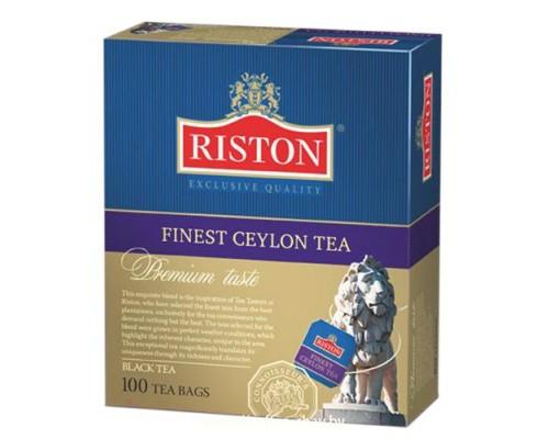 Чай Riston Finest Ceylon Tea 100 пак