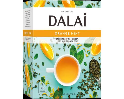 Чай зеленый Dalai Orange Mint 90 конв.